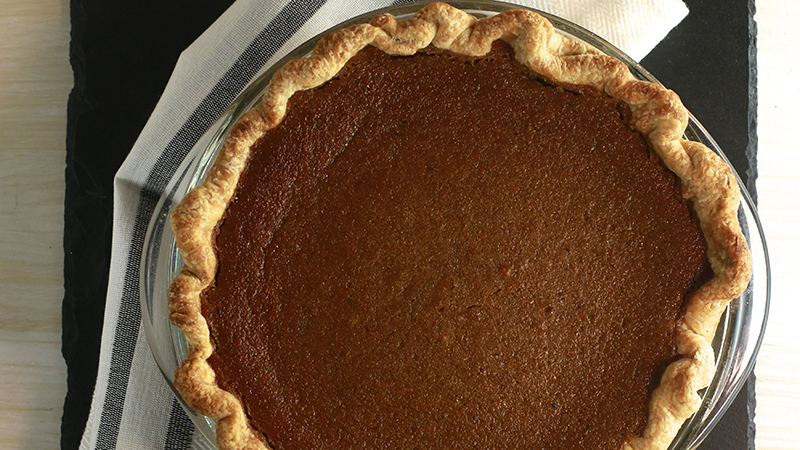 Neutral Coconut Cardamom Pumpkin Pie