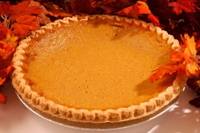 Maple Honey Pumpkin Pie