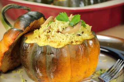 Stuffed Squash, Warming or Cooling