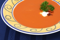Caldo de Pimenton (Red Pepper Soup)