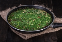 Mixed Herb Frittata (Kuku)
